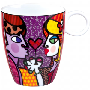 "Kubek 0,4l ""All for You"" Romero Britto firmy Goebel"